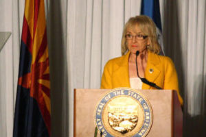 Jan Brewer - Randy Metcalf/The Explorer