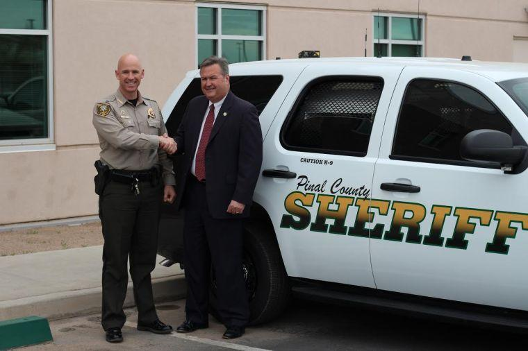 PCSO receives new K-9 vehicle with new technology to locate stolen cards