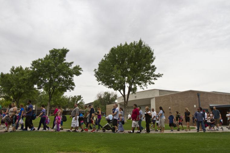 First Day of School at Twin Peak Elementary School