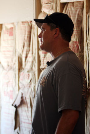 William Warneke : Dan Klement, who is the president of the North Tucson Firefighter Association, is coordinating the projects and restorations for the Warneke family. - Randy Metcalf/The Explorer
