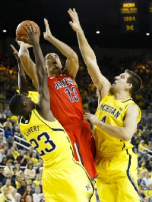 Arizona Basketball: Nick Johnson (middle) and Arizona took it to the biggest teams on its schedule and are stronger after escaping with a 13-0 nonconference record.Nick Johnson (middle) and Arizona took it to the biggest teams on its schedule and are stronger after escaping with a 13-0 nonconference record. - See more at: http://arizona.rivals.com/content.asp?CID=1591007&PT=4&PR=2#sthash.KAMIpEaY.dpufNick Johnson (middle) and Arizona took it to the biggest teams on its schedule and are stronger after escaping with a 13-0 nonconference record. - See more at: http://arizona.rivals.com/content.asp?CID=1591007&PT=4&PR=2#sthash.KAMIpEaY.dpuf - Rick Osentoski, USA TODAY Sports