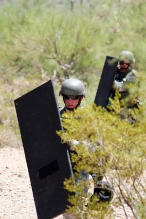 Training against terror