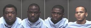 Counterfeit fraud arrests