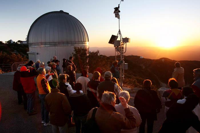 The view from Kitt Peak