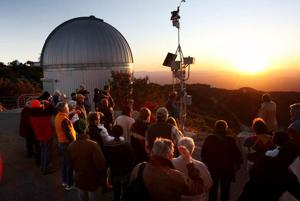 The view from Kitt Peak