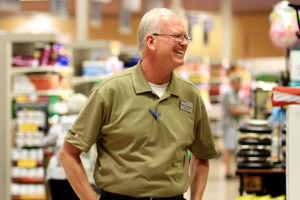 Safeway's Mike Hennings: From raising money for local schools and programs to losing his wife to Leukemia and meeting his current wife, Safeway Store Manager Mike Hennings has had support from his coworkers and customers near and far.  - Randy Metcalf/The Explorer