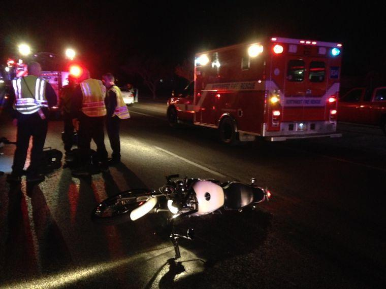 Motorcycle incident