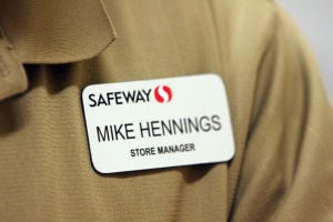 Safeway's Mike Hennings: At the age of 24, Mike Hennings became a store manager and has been one ever since. He is retiring at the age of 57.  - Randy Metcalf/The Explorer