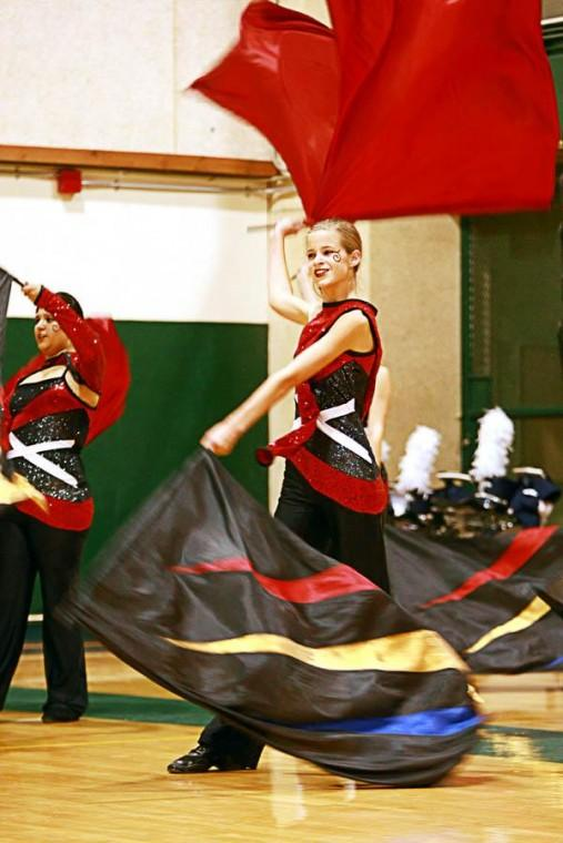 Marching indoors