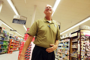Safeway's Mike Hennings: After retiring this week, Mike Hennings plans to travel and dabble in collecting art.  - Randy Metcalf/The Explorer