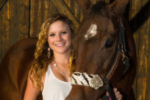Braelyn Henry: Braelyn Henry, a recent graduate from Marana High School, is heading to the National High School Finals Rodeo for the third time to compete in pole bending. - Jim Heet