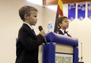 Pusch Ridge Veterans Day Assembly