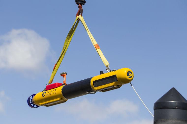 Robotic Submarine Malaysia airlines