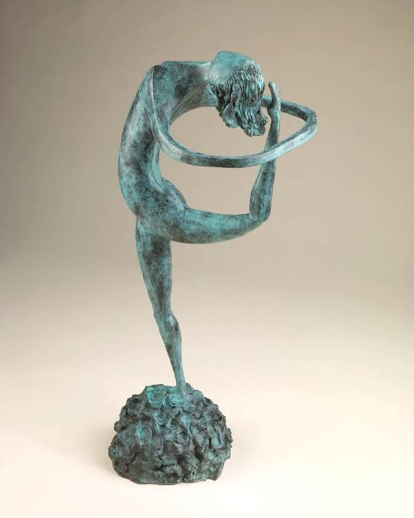 New sculptures, oils on display at gallery
