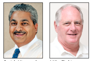 Oro Valley Council: Mayor Satish Hiremath and Coucilman Mike Zinkin.
