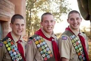 Three brothers, three Eagles
