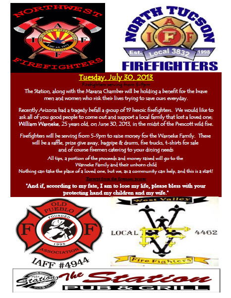 Fundraiser at Station Pub and Grille