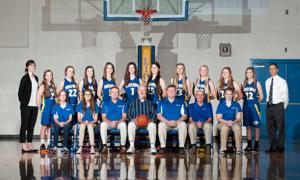 Pusch Ridge Christian Academy girls' basketball