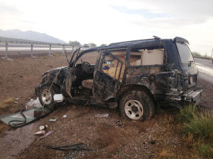 I-10 Rollover: Northwest Fire crews responded to I-10 and Avra Valley Road at 2:49 p.m. Sunday after reports of a vehicle rollover.