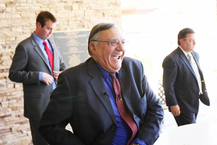 Arpaio helps candidate at OV fundraiser
