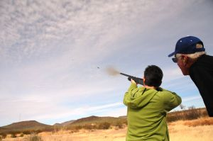 Free Shotgun Shooting Event For Women Feb. 8 - Photo by Kristin Terpening of AZGFD