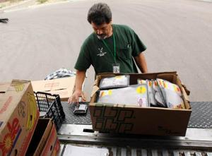 Food bank gets paid help to make rounds