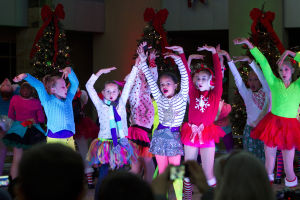"Marana Christmas: Dancers ages eight to 15 perform in ""The Grinch"" dance. - Hannah McLeod/The Explorer"