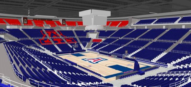 McKale Center rennovation