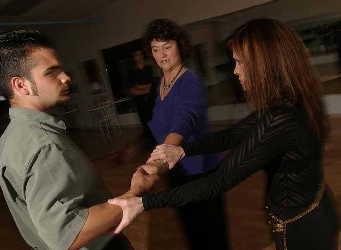 Dancing mimics life, she believes