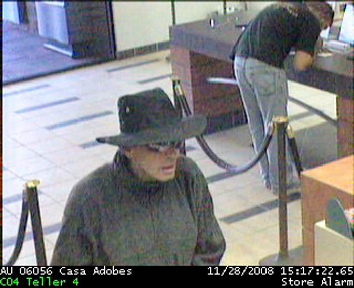 NW bank robber caught