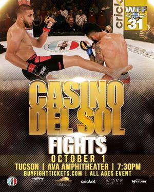 World Fighting Federation celebrates achievements before Oct. 1 Tucson show