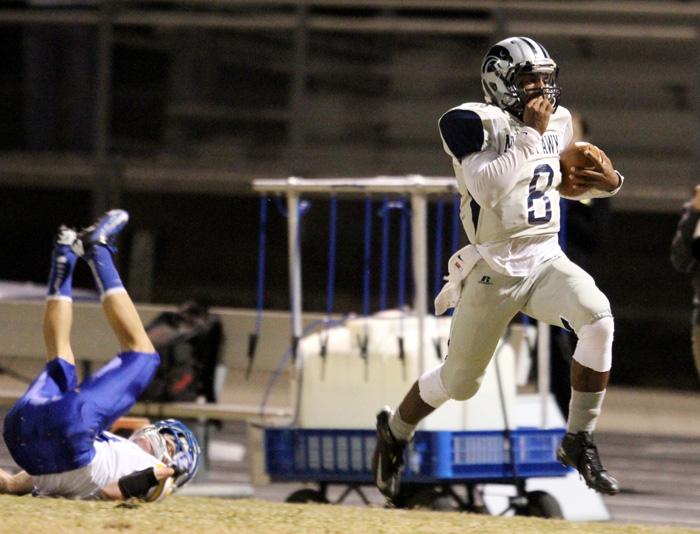 Ironwood Ridge vs Prescott high school Football