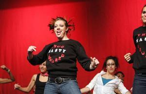 Dancing, and having fun