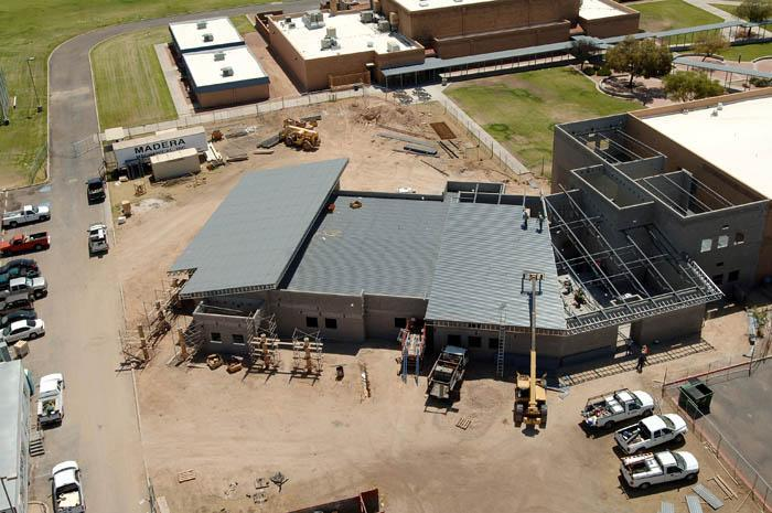 Amphi moves ahead with work