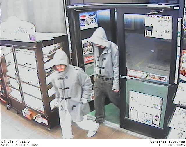 Circle K robbers