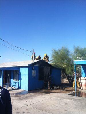 House Fire: House fire