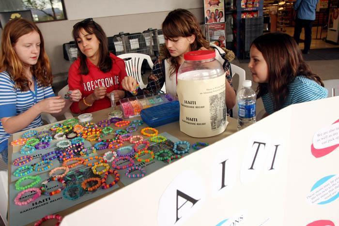 Marana girls raised $564 in quake aid