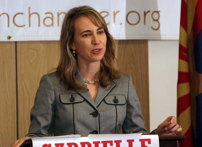Giffords has learned the power, acknowledged D.C.'s partisanship