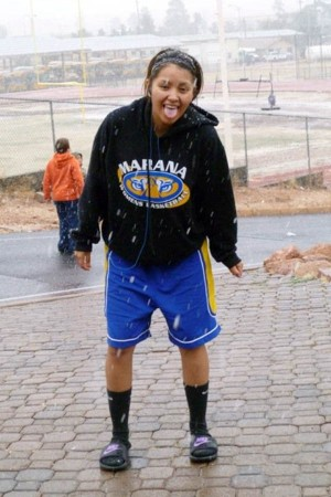 Veronica Meade: Veronica Meade was a member of the Marana girls' basketball team. Teammates work to carry on her memory and cherish the good times they had with the 17-year-old.  - courtesy photo