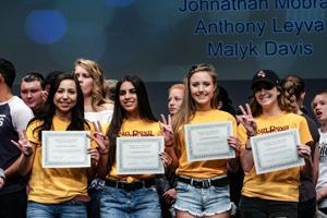 Mountain View High School college signing day 2017