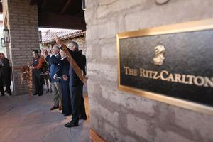 A grand opening, indeed, for the Ritz-Carlton