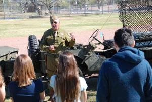 Tortolita students get a hands-on look at history