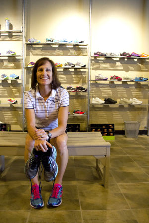 Fleet Feet: Owners and married couple Pete and Jeanne Snell their second Fleet Feet store in the Oracle Crossings shopping center. Fleet Feet is a walking, running and fitness store. - Hannah McLeod/The Explorer