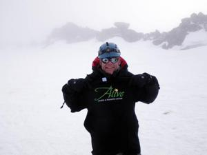 OV pilot, health coach tops his summit – Mount Rainier