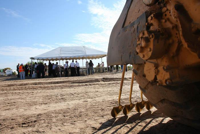 NW breaks ground on training facility