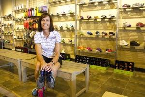 Fleet Feet: Jeanne Snell, co-owner of Fleet Feet, decided to extend their fitness store to the northwest side of Tucson. For the last seven years, the store has been named one of The 50 Best Running Stores in America. - Hannah McLeod/The Explorer
