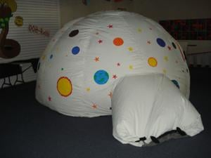 Inflatable Planetarium