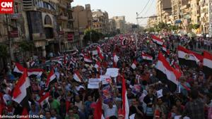 Egyptian army issues warning