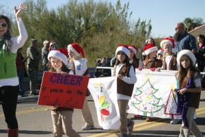 Oro Valley Holiday Parade 2014 - Thelma Grimes/The Explorer