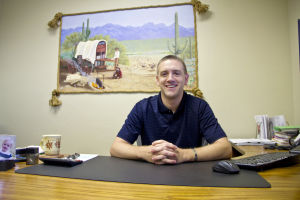 Frontier Insurance Concepts: Frontier Insurance Concepts is a family-owned and independent insurance agency owned by Dan Scott. The company was opened with his father in 2001. - Hannah McLeod/The Explorer